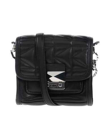 KARL LAGERFELD Across-Body Bag. #karllagerfeld #bags #leather #hand bags #pvc #satchel #