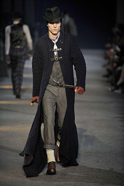 Best Menswear show of all time- Alexander McQueen Mens F/W 09-10 Milan