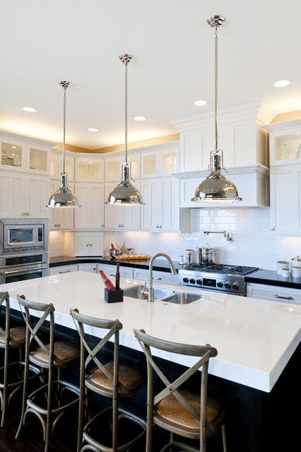 Adding cabinets above your upper cabinets is a great way to make the most of an often wasted space — that gap between upper cabinets and the ceiling.