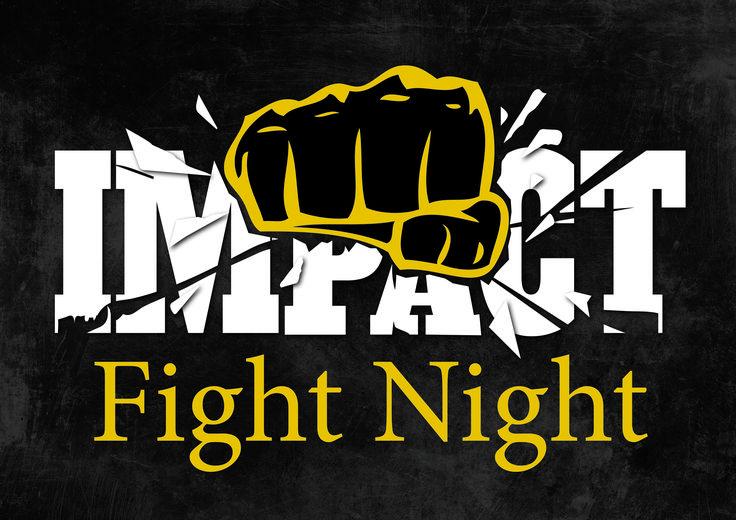 Impact Fight Night Logo Design by Imagine If Creative Studios