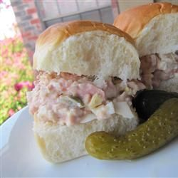 Bologna Salad Sandwich Spread - another attempt at recreating that disgustingly good tubed meat from my childhood
