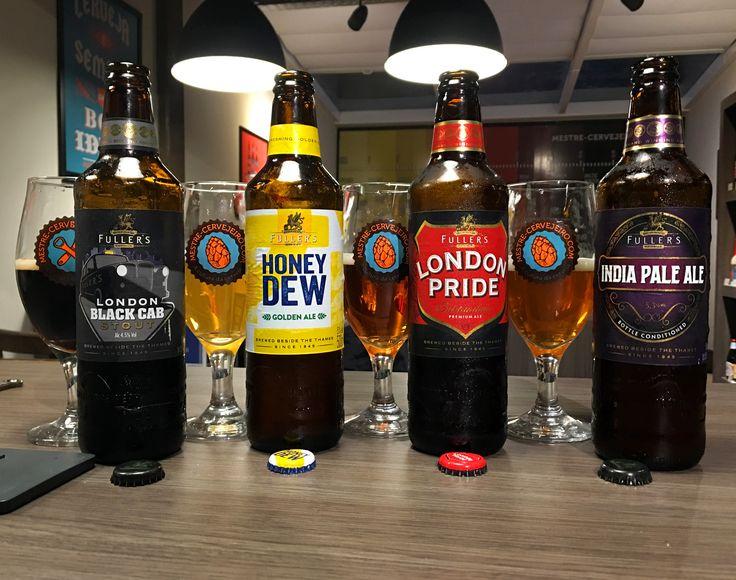 Algumas cervejas da Fuller's - Episódio 202 #cerveja #degustação #beer #tasting