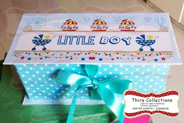 Customize gift box for birthday, baby shower