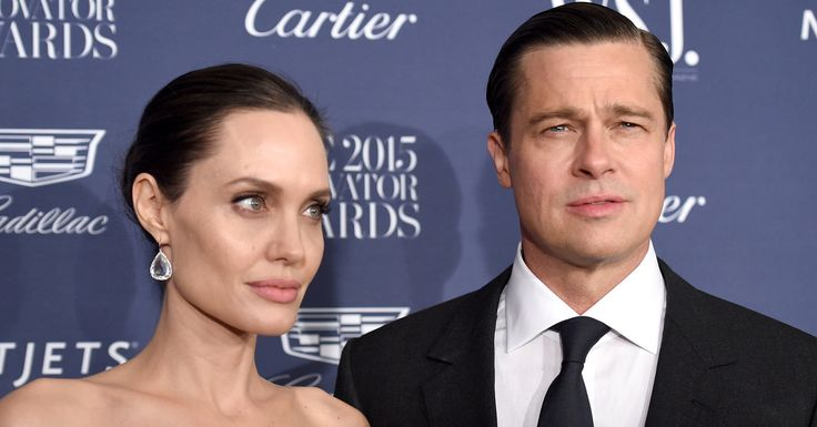Angelina Jolie Allowed Brad Pitt To See Their Kids For Father's Day #Entertainment_ #iNewsPhoto