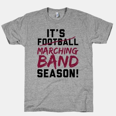 After all, everybody knows that football is just the opening act for the band.