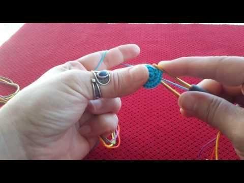 Wayuu Çanta Yapımı #1 - Başlangıç - YouTube