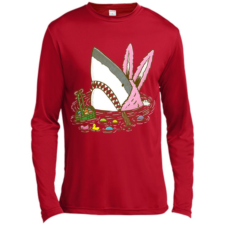 The Easter Shark T-Shirt, Easter Day Shirts