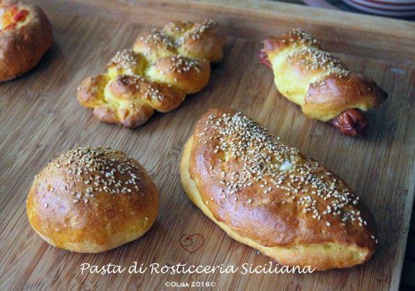 Pasta di Rosticceria Siciliana senza glutine | Un cuore di farina senza glutine