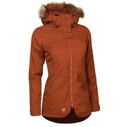 Zimná bunda Woox Lanula Ginger Chica dám.