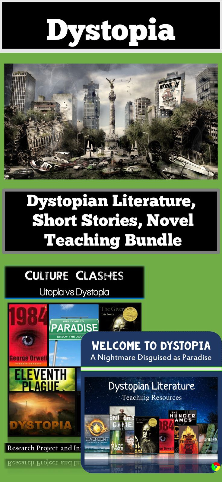 dystopian short story Students constantly rave about dystopian literature why not give them something to rave about in your classroom this month-long unit contains engaging and relevant materials that will encourage student engagement and foster reflective thinking about life, society, and, yes, even that scary word - the future.