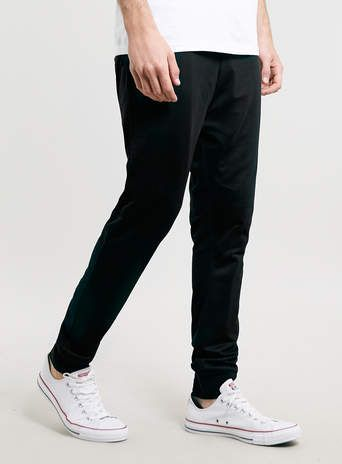 Black Mesh Joggers - New This Week - New In