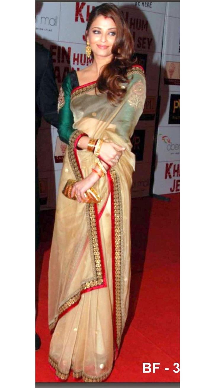 Aishwarya Rai in Saree Wallpapers #84 - CineShout