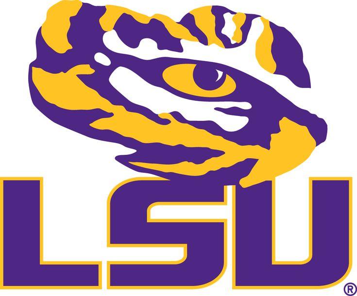 LSU Tigers Secondary Logo (2014) -