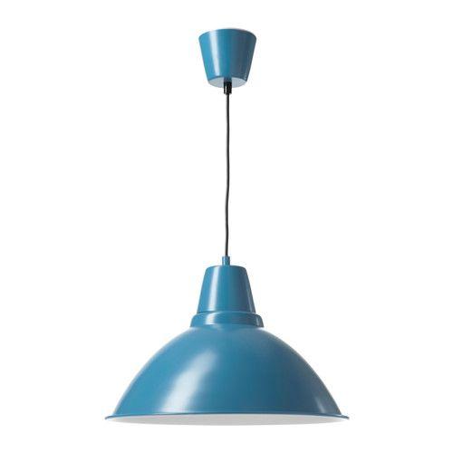 FOTO Lampada a sospensione - blu - IKEA