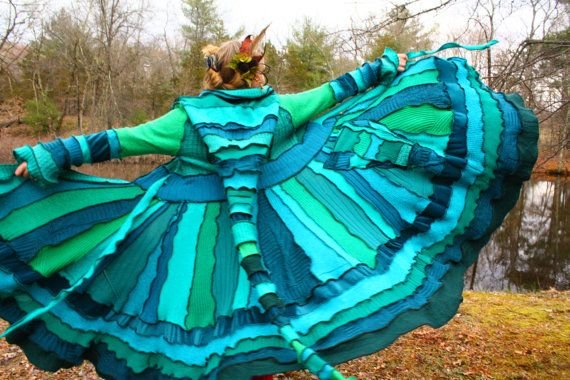 This coat screams fairy happiness.