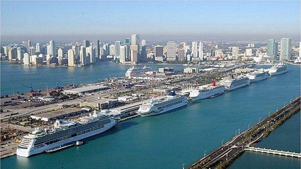 Морской порт Майями Майами (Флорида) (фото)