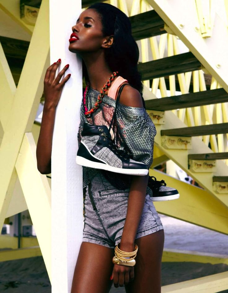 gym tonique: senait gidey by lucian bor for be august 2013 | visual optimism; fashion editorials, shows, campaigns & more!