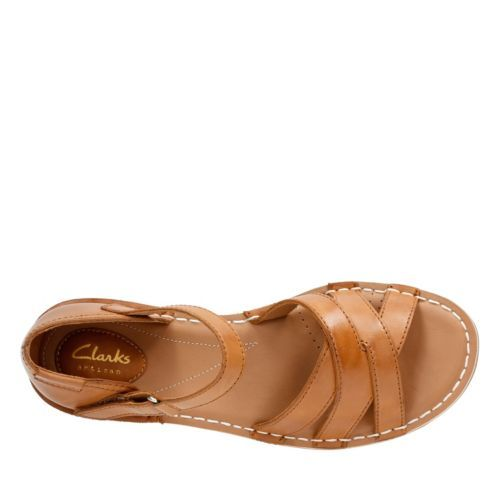 Tustin Sahara Tan Leather womens-sandals