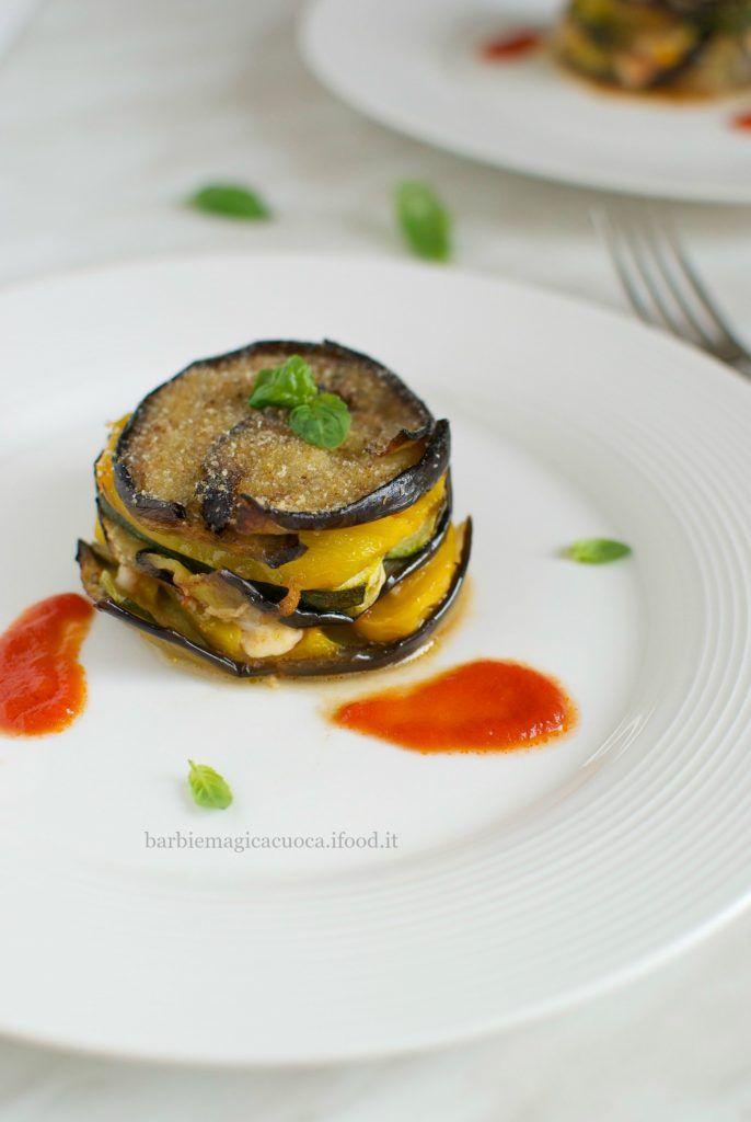 Tortino di verdure: un piatto semplice servito nel piatto giusto
