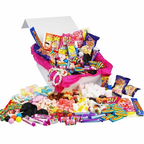 Personalised Retro Sweets Deluxe Box - For Him  from Personalised Gifts Shop - ONLY £19.95
