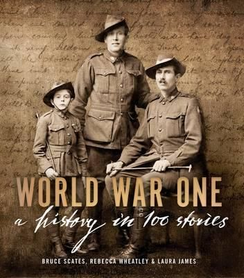 World War One: A History in 100 Stories remembers not just the men and women who lost their lives during the battles of WWI, but those who returned home as well: the gassed, the crippled, the insane – all those irreparably damaged by war.