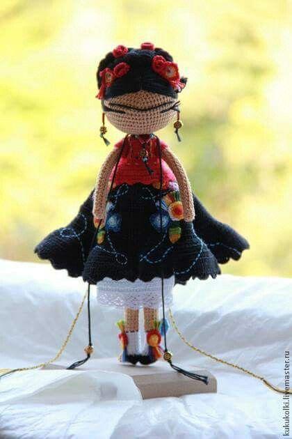 10+ images about ♡ Frida Knit Dolls ♡ on Pinterest | Crochet dolls ...