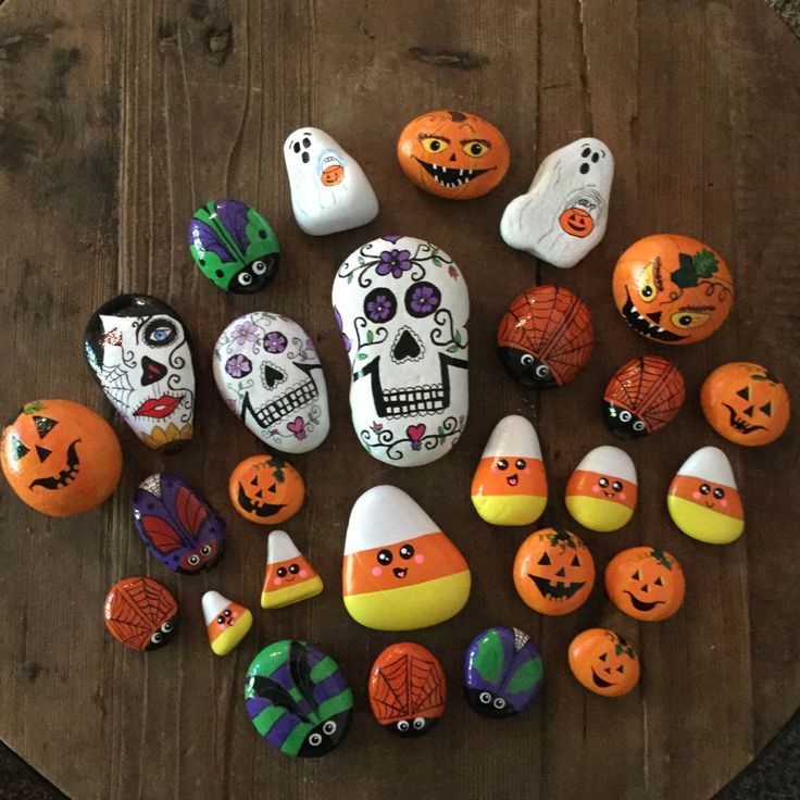 34 Halloween Rock Painting Ideas For Fall You Ll Love Rock Crafts Halloween Rocks Painted Rocks Kids