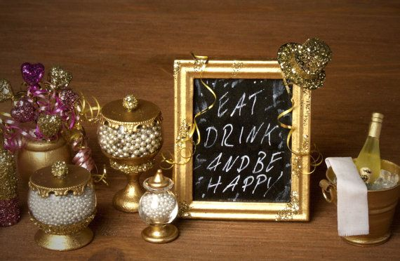 Charming Miniature Party Table Board for your by DinkyWorld