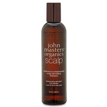 【頭皮環境を健康な状態に導くシャンプー】ジョンマスターオーガニック   スペアミント&メドウスイート スキャルプシャンプー ***6つのオーガニック成分と大豆プロテインなどの力により、頭皮環境を健康な状態に導くシャンプー。過剰な頭皮の油分や皮脂を抑制しながら、髪の毛のハリ・コシをアップさせてくれます。洗浄能力に優れたユーカリがバクテリアを取り除き、スッキリとした爽快感のあるスペアミントが頭皮を刺激します。頭皮を活性化させた後、浄化して栄養を与える新スキャルプシリーズ。頭皮のニオイやベタつき、抜け毛、コシやハリの低下など頭皮のエイジングトラブルのお悩みにオススメ。