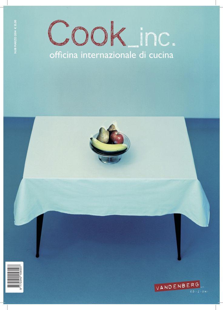Chef Massimo Bottura e opera di Carlo Benvenuto in copertina (courtesy of Galleria Mazzoli, Modena)