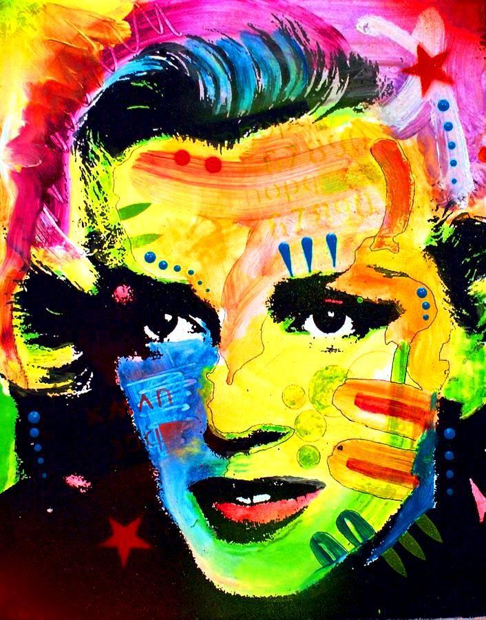 Marilyn Monroe  pop art Dean Russo