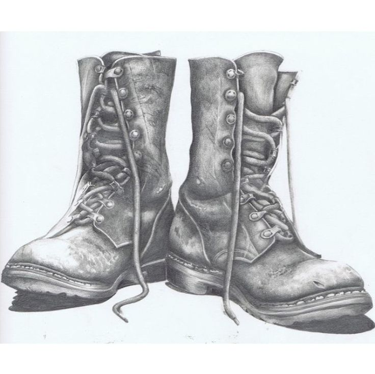 My Old Worn Boots by CliveEdwards on deviantART | Boots