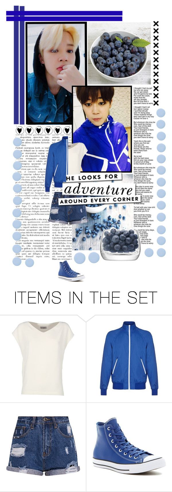 """""""Blue blueberry"""" by shook-squad on Polyvore featuring art"""