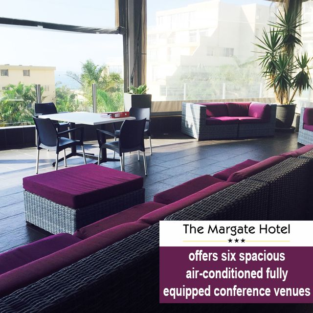 Are you planning a business trip to the South Coast? Bookings suzette@margatehotel.co.za   (039) 312-1410 http://bit.ly/1Tzbwzt