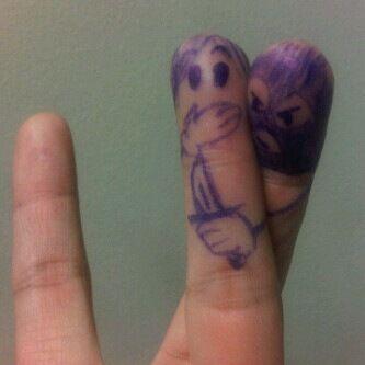 Fingers crossed I'm not stabbed.