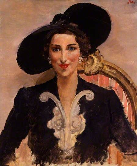 Augustus Edwin John - Dorothy Rose Burns, née Duveen, 1940's