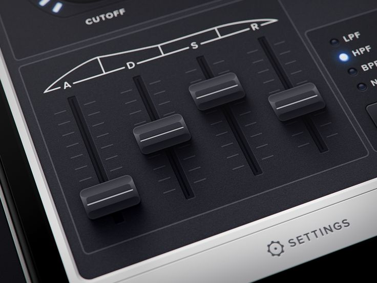 Delightful conceptual synthesizer app by Mikael Eidenbergs.