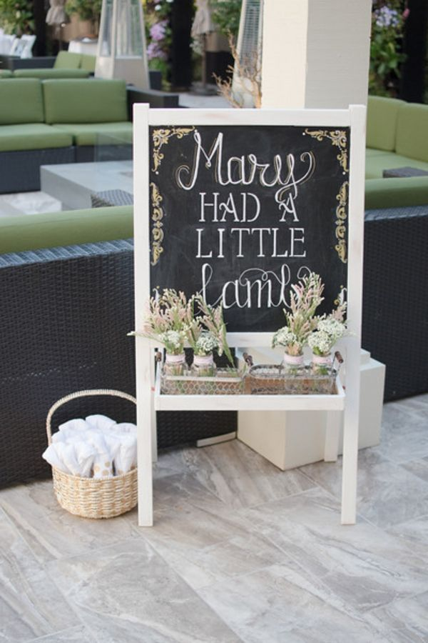 Mary Had A Little Lamb Baby Shower Ideas | Pretty My Party