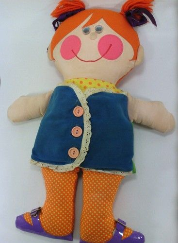 Dressy Bessy Doll 1970s Playskool Teaching Toy, I just saw this and the memory of loving her just flooded through me. ;)