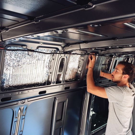 We are currently in Paradise, CA staying at family's house while we spend time converting our 2016 Mercedes Sprinter Van. This process has been a challenge and we have been doing a lot of waiting for parts and special orders to arrive. Next week we will share a long post on our electrical and solar set up but today I wanted to share the first initial stage of the van process. More details about our van life plan here. INSULATION Our first step in the process was to get our van insulat...