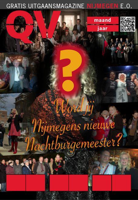 Nachtburgermeester cover QV #magazine #redbol