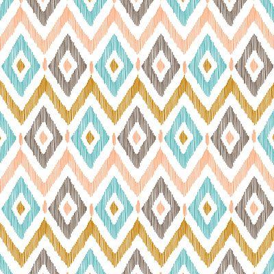 Sketchy Diamond IKAT Art Print by Patty Sloniger | Society6