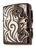 "Zippo Tribal Skull Lighter by Zippo. $240.00. Zippo Manufacturing Company has produced over 400 million windproof lighters since its founding in 1932. Except for improvements in the flint wheel and modifications in case finishes, Zippo's original design remains virtually unchanged today, still looks great and are easy to use. The Lifetime Guarantee that accompanies every Zippo lighter still guarantees that ""It works or we fix it freeTM"" for life."