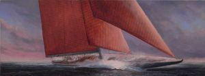 Paul Deacon, 'Sailing' Oil on canvas, POA at the Remuera Gallery