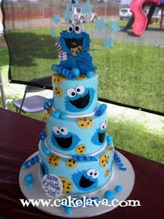 Cookie Monster...wish I had the time to make this today.