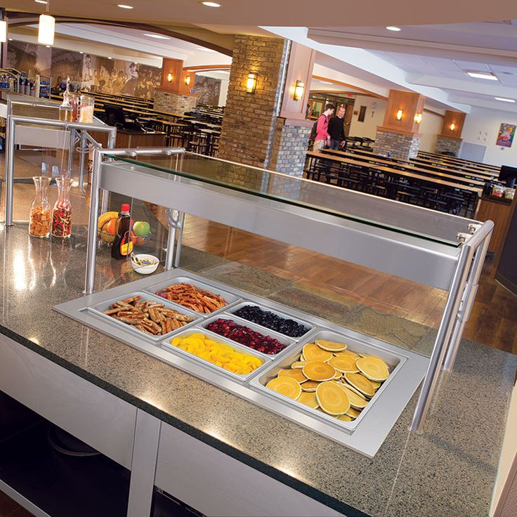 Cafeteria Food Pans ~ Best professional sneeze guards for commercial