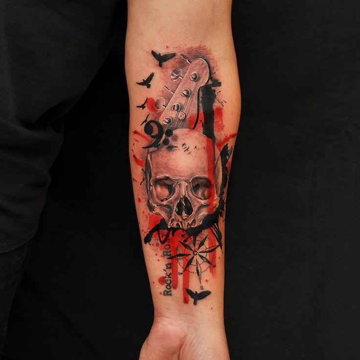 Trash Polka Skull By Mcrdesign On Deviantart: 17 Best Images About Tattoos Trash Polka On Pinterest