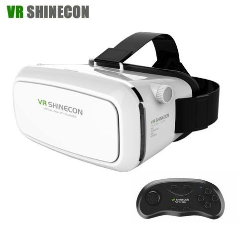 VR Headset Shinecon Pro 3D Glasses Virtual Reality helmet VR Box Google…