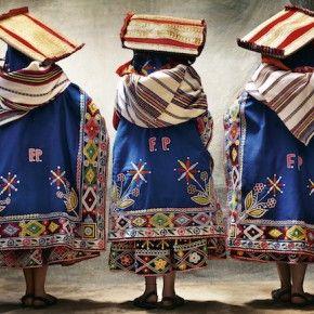 Mario Testino Peruvian costumes
