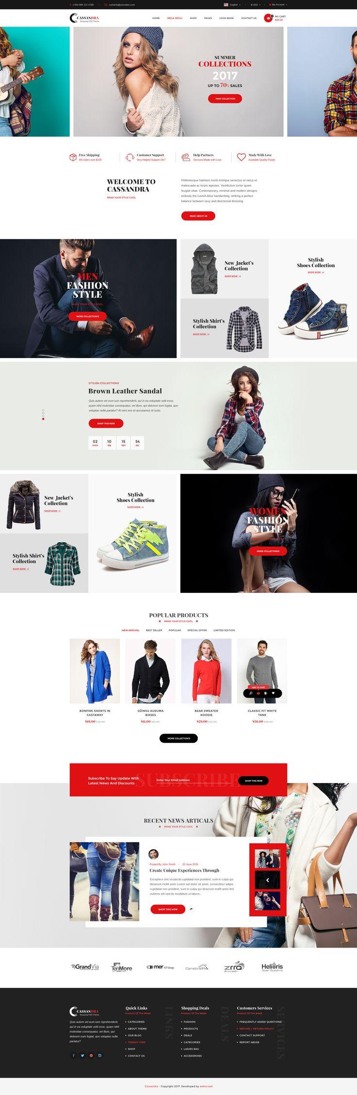 Cassandra Shopping – multipurpose e-commerce PSD template #online shop #organic #retail • Download ➝ https://themeforest.net/item/cassandra-shopping-multipurpose-ecommerce-psd-template/19498969?ref=pxcr
